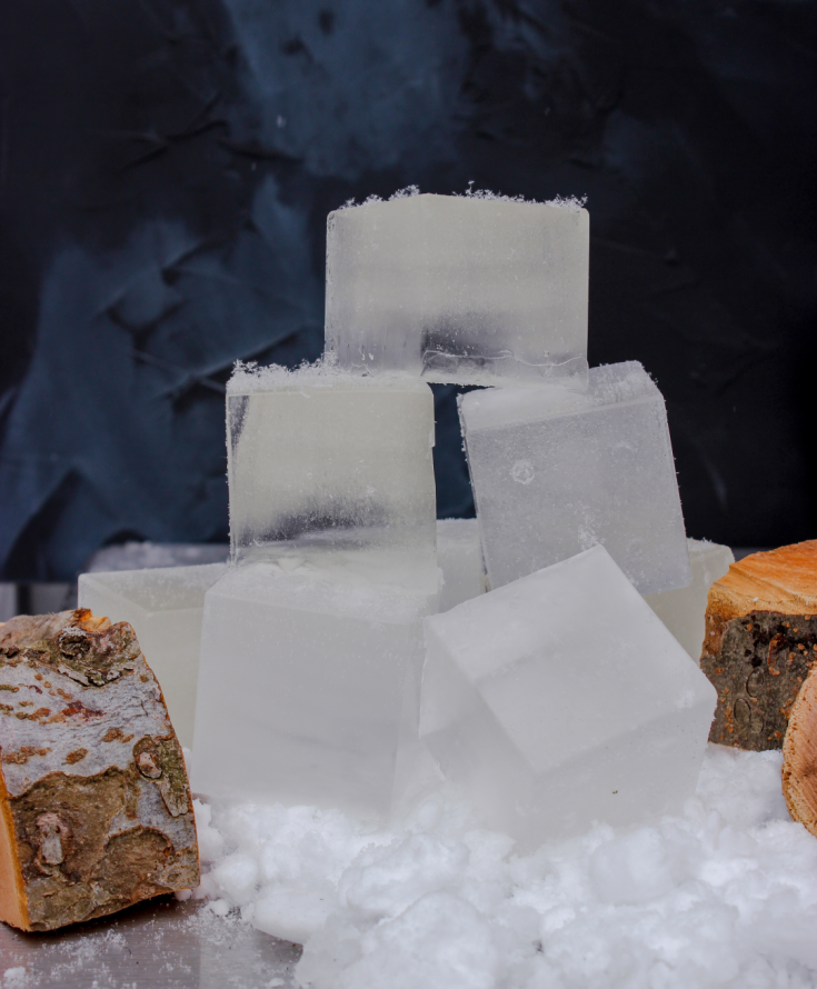 How to make smoke infused ice cubes