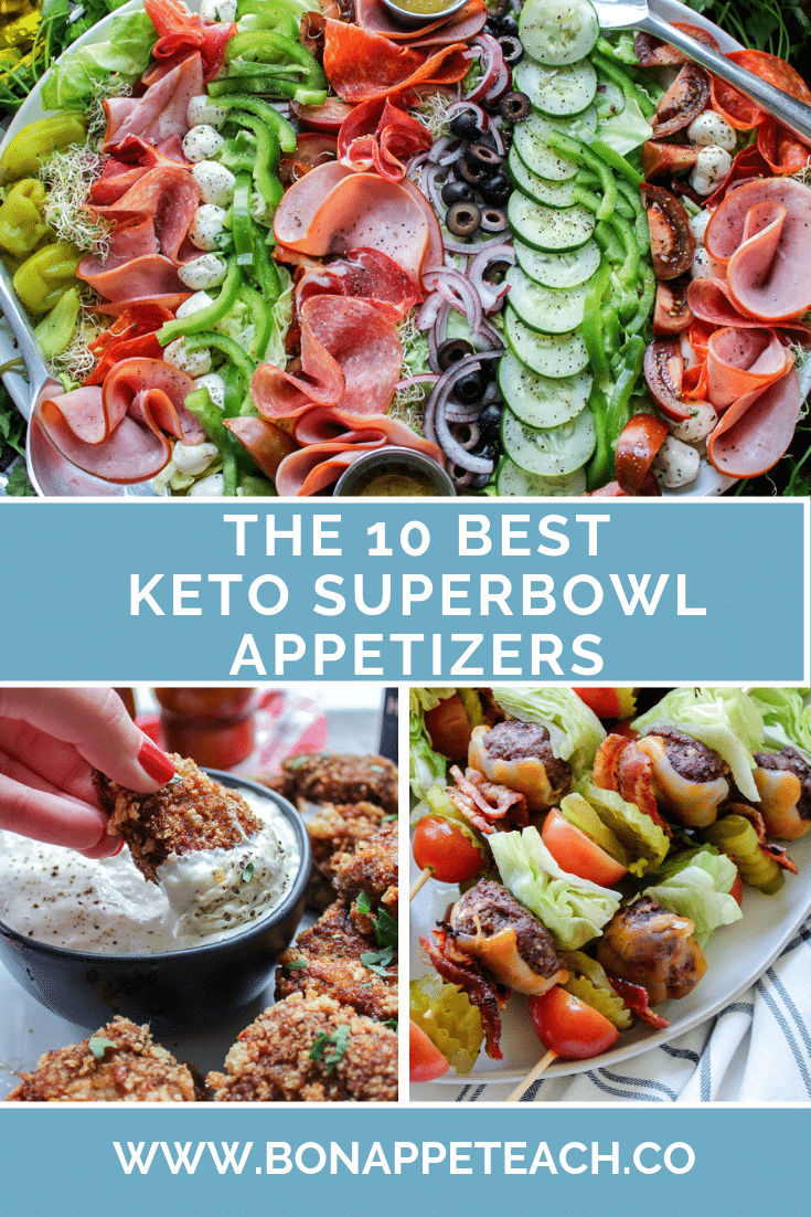 The Best 10 Keto Super Bowl Appetizers