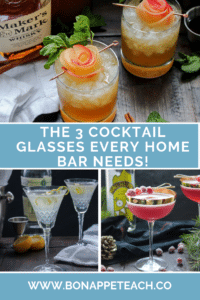 The 3 Cocktail Glasses Every Home Bar Needs