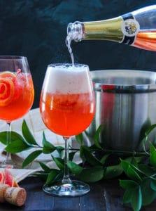 The Forsyte Spritzer- Rose Aperol Spritz