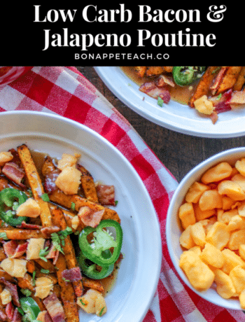 Low Carb Bacon & Jalapeno Poutine