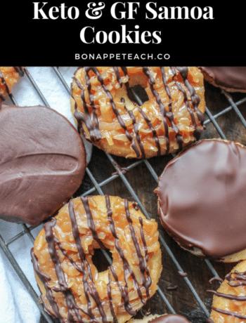 Keto & Gluten Free Samoa Cookies