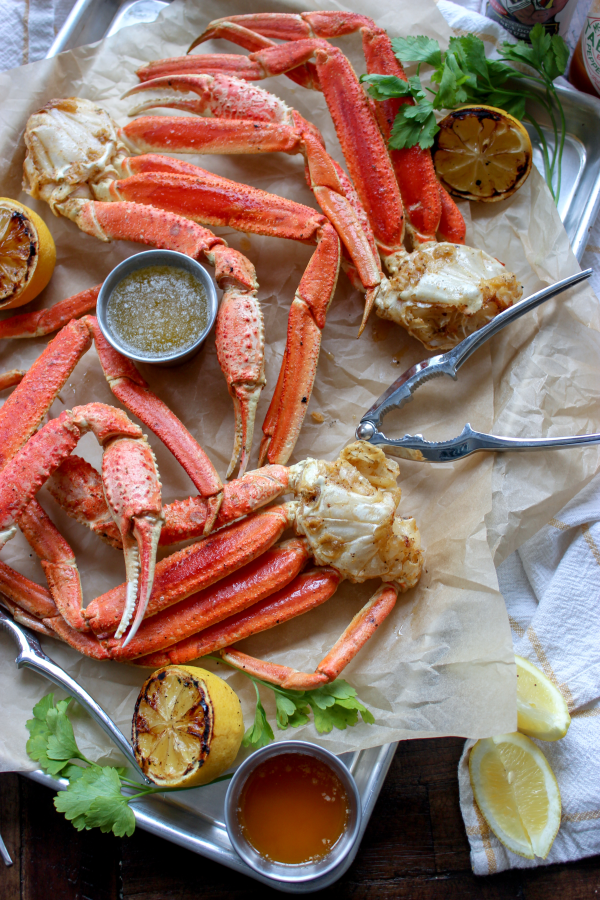 Easy Smoked Crab