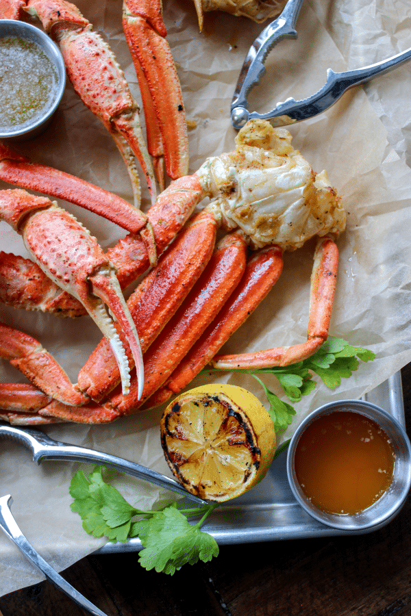 Easy 30 Minute Smoked Crab Legs - Bonappeteach