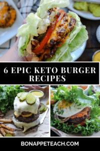 6 Epic Keto Burger Recipes