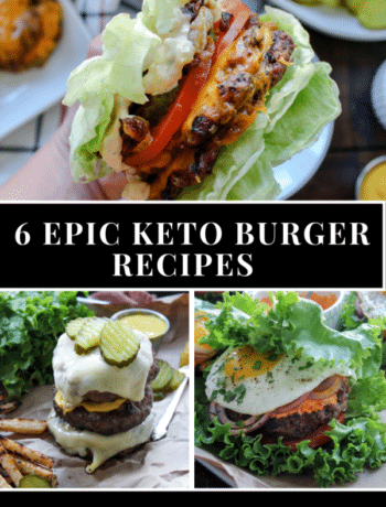 6 Epic Keto Burger Recipes