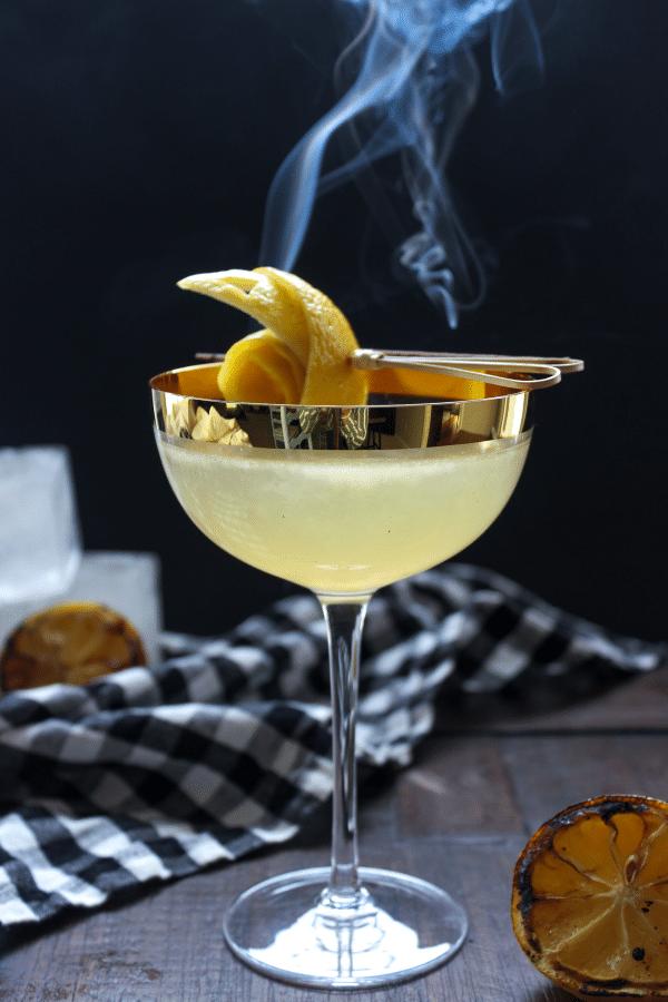 The Smokin' Skinny B Cocktail