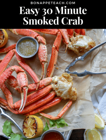 Easy 30 Minute Smoked Crab