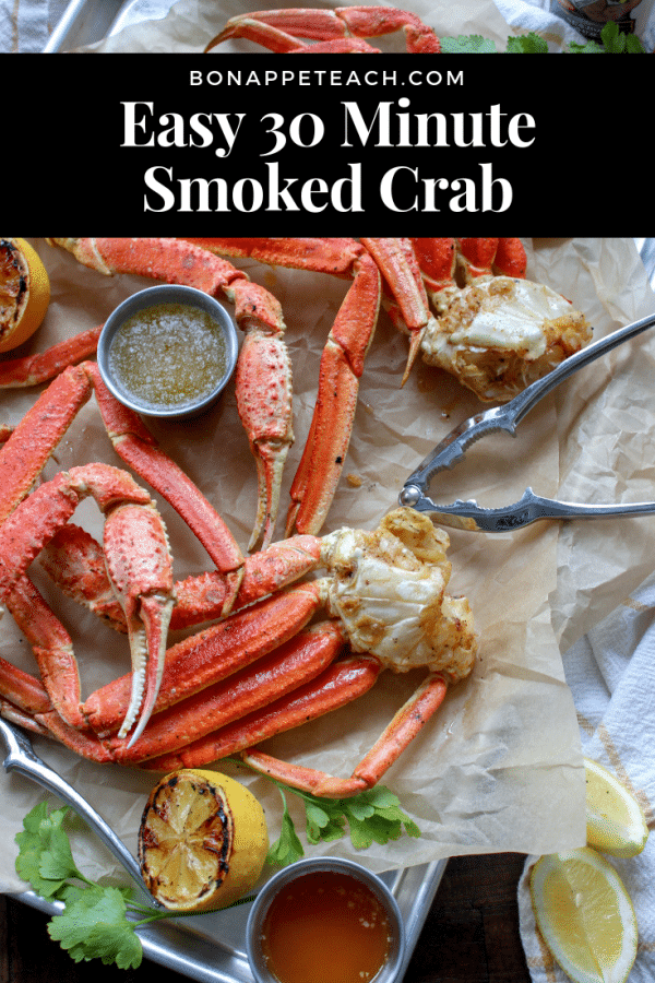 Easy Smoked Crab Legs