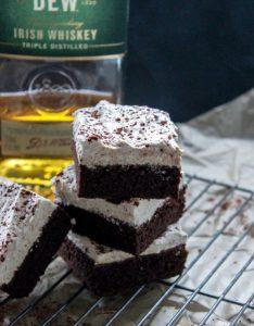 Keto Irish Cream Brownies
