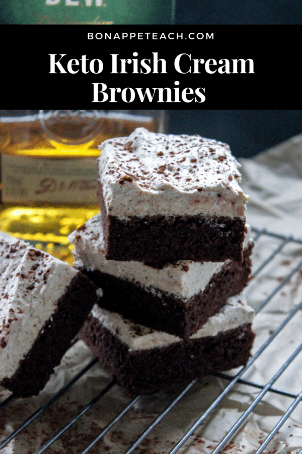 Keto Irish Cream Brownies