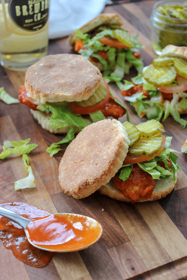 Low Carb Nashville Hot Chicken Sliders