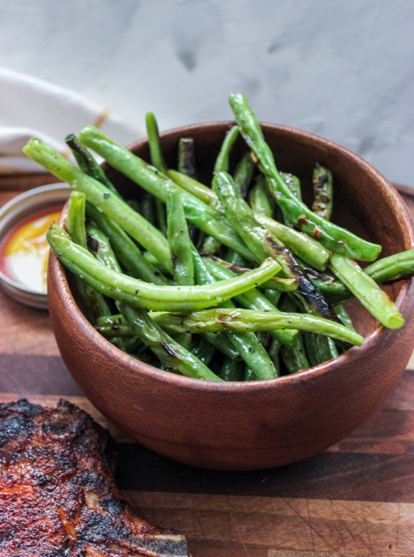 Easy Blistered Green Beans