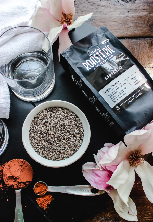 Low Carb Mexican Mocha Chia Pudding
