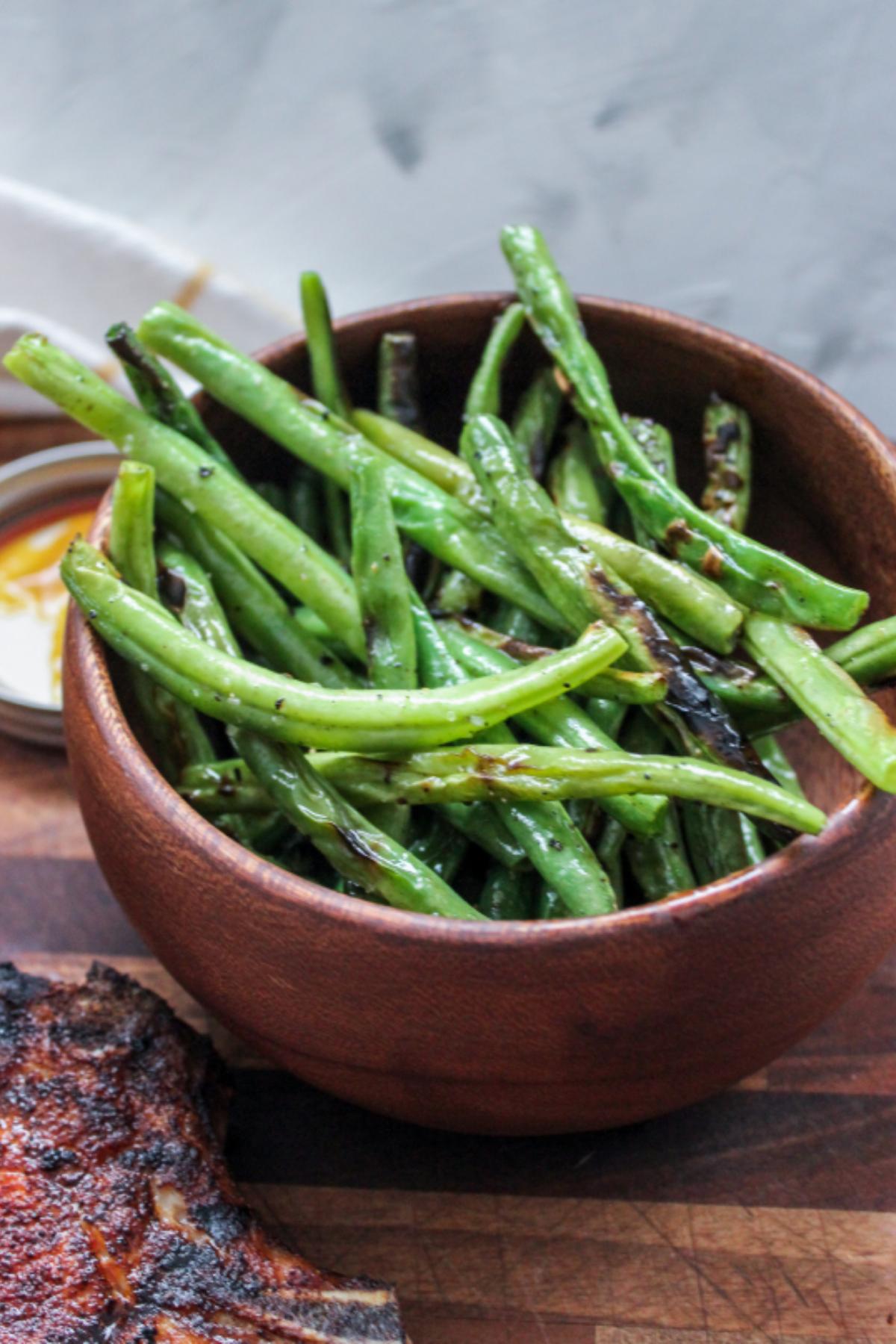 Easy Blistered Green Beans