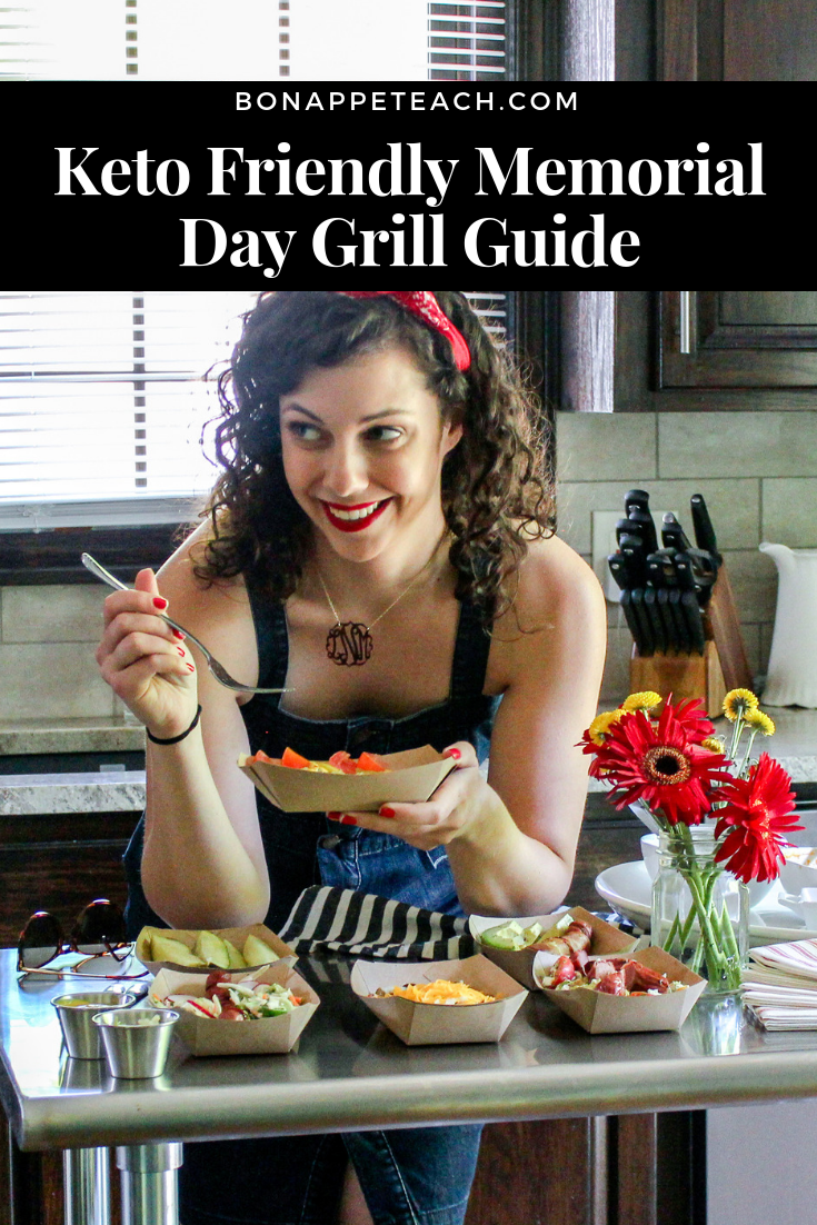 Keto Friendly Memorial Day Grill Guide