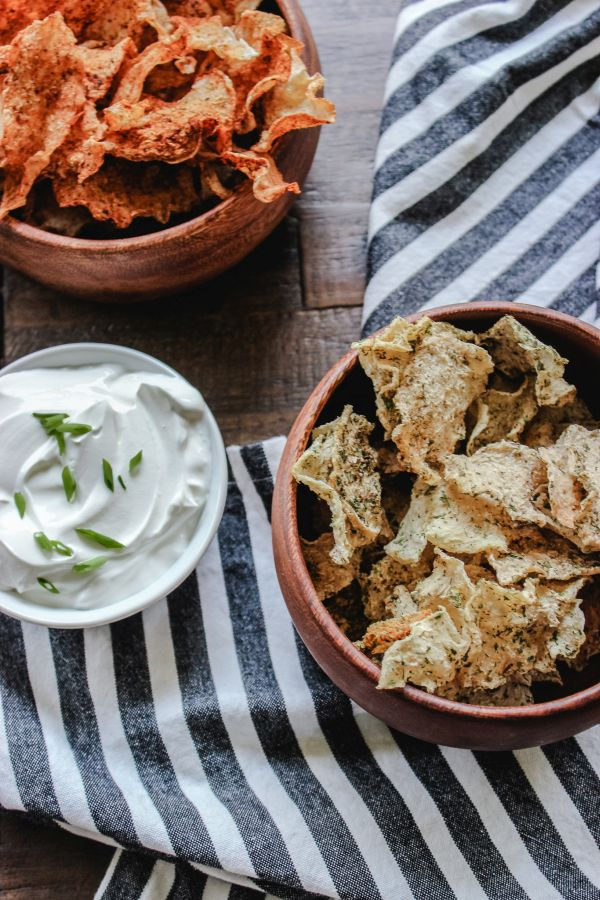 Low Carb Jicama Chips
