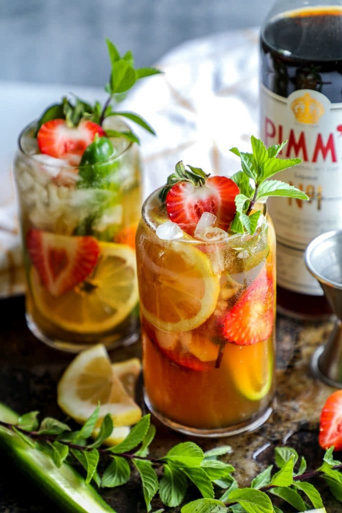 Low Carb Pimms Cup