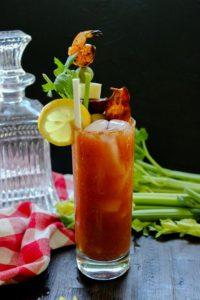 Twilight: Smoked Bloody Mary with a Bite
