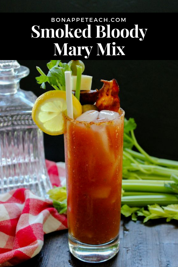 Smoked Bloody Mary with a Bite