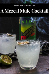 Mule Ado About Nothing : A Mezcal Mule Cocktail