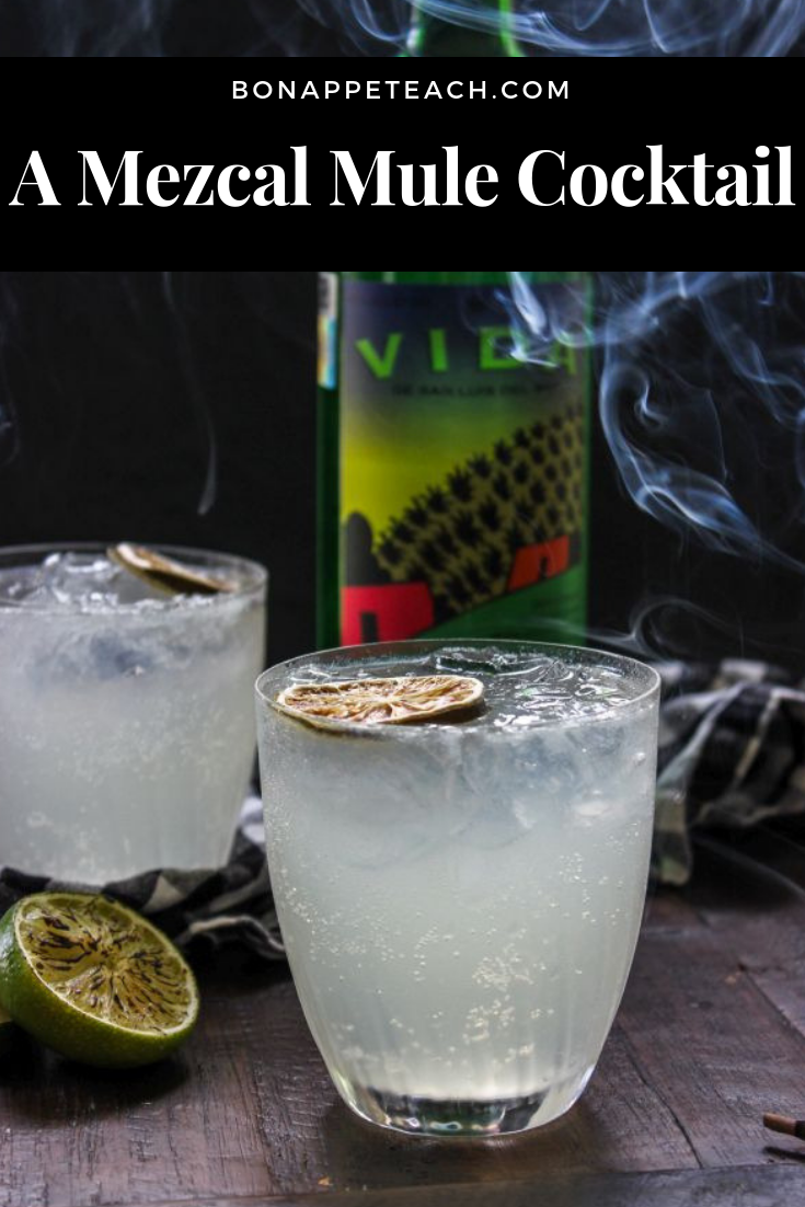 A Mezcal Mule Cocktail