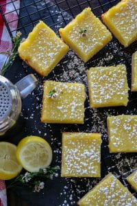 Gluten Free Keto Lemon Bars