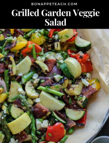 Grilled Garden Veggie Salad