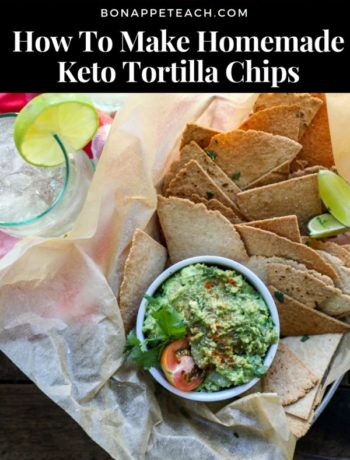 How To Make Homemade Keto Tortilla Chips