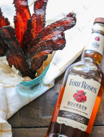 Keto Candied Bacon With Bourbon