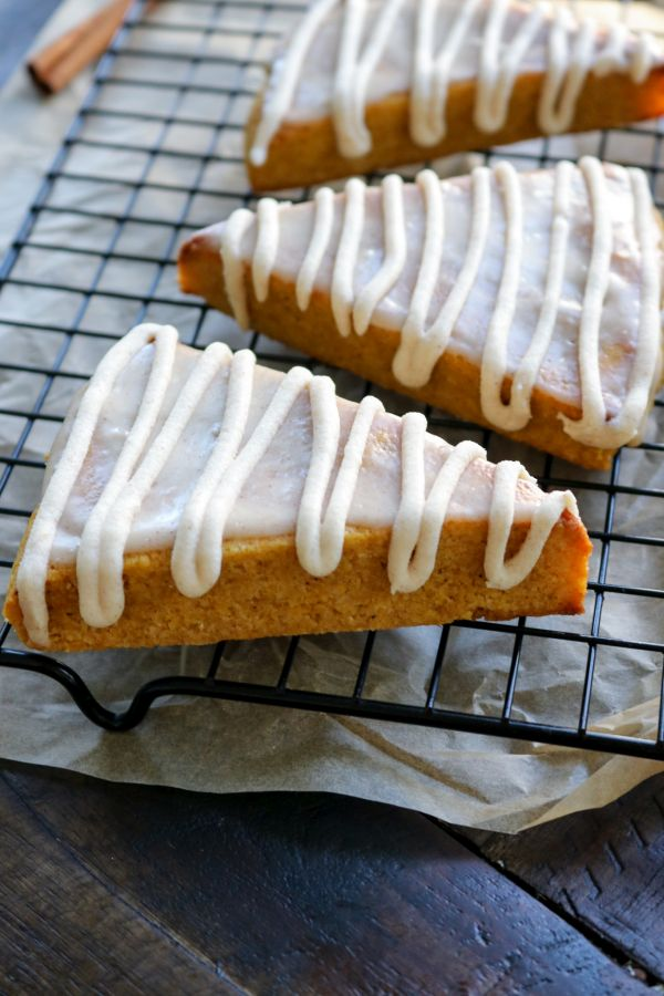 Keto Pumpkin Bread Scone