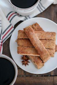Almond Flour Snickerdoodle Biscotti – Keto & Gluten Free