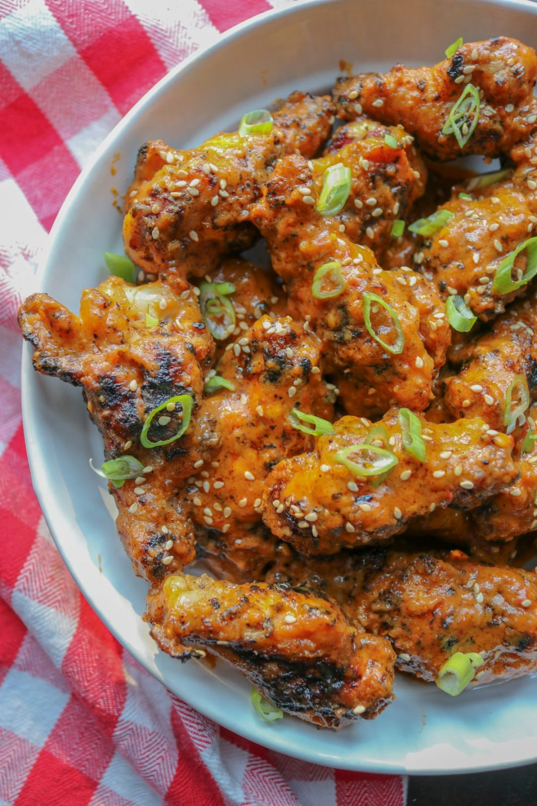 Grilled Thai Curry Chicken Wings