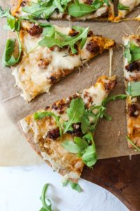 Pumpkin Sauce Pizza- Keto & Gluten Free