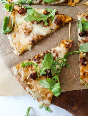 Pumpkin Sauce Pizza