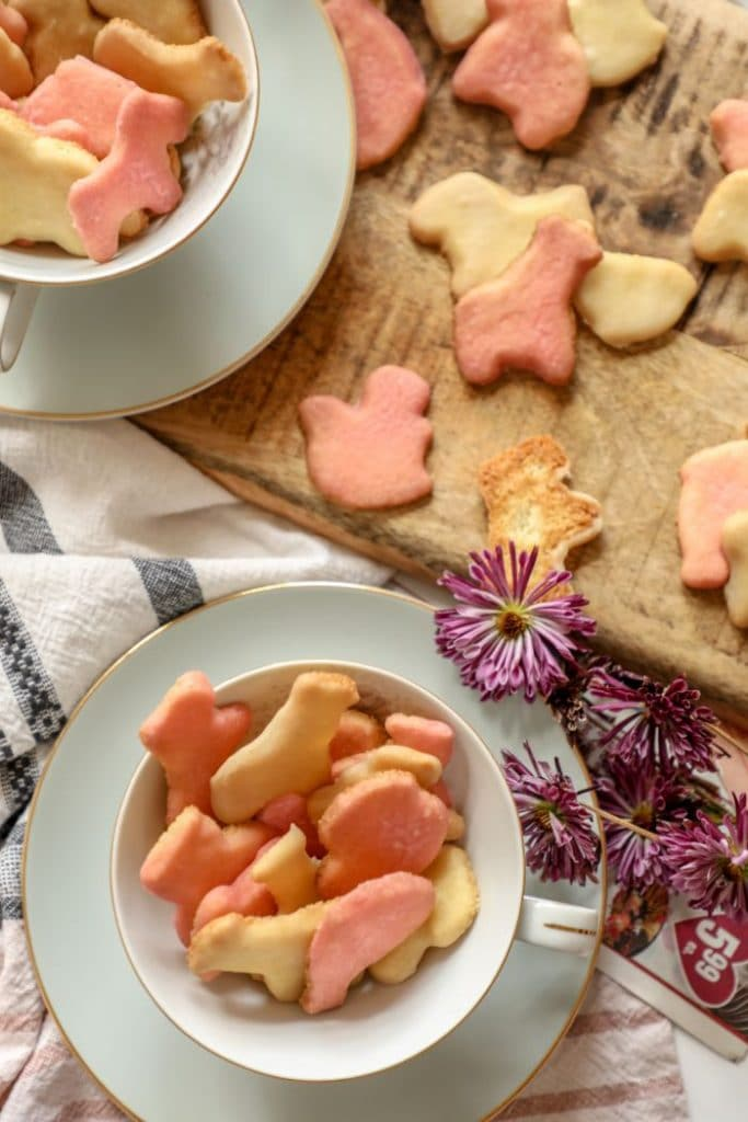 Keto Frosted Animal Cookies