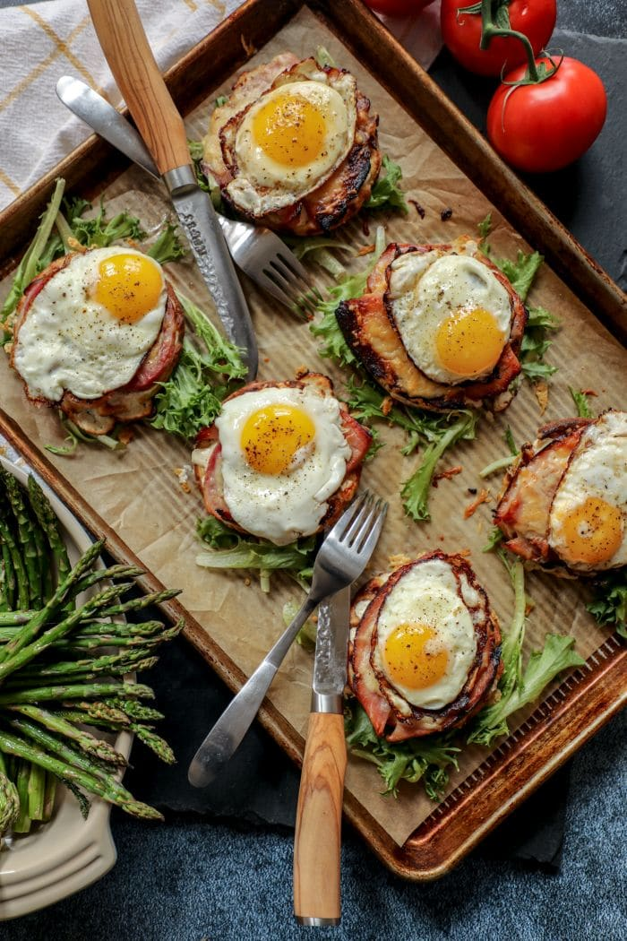 Keto Low Carb Croque Madame