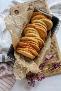 Keto Shortbread Sugar Cookies