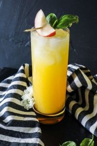 Girl, Wash Your Fuzzy Navel- A Low Carb Fuzzy Navel Cocktail (with video)