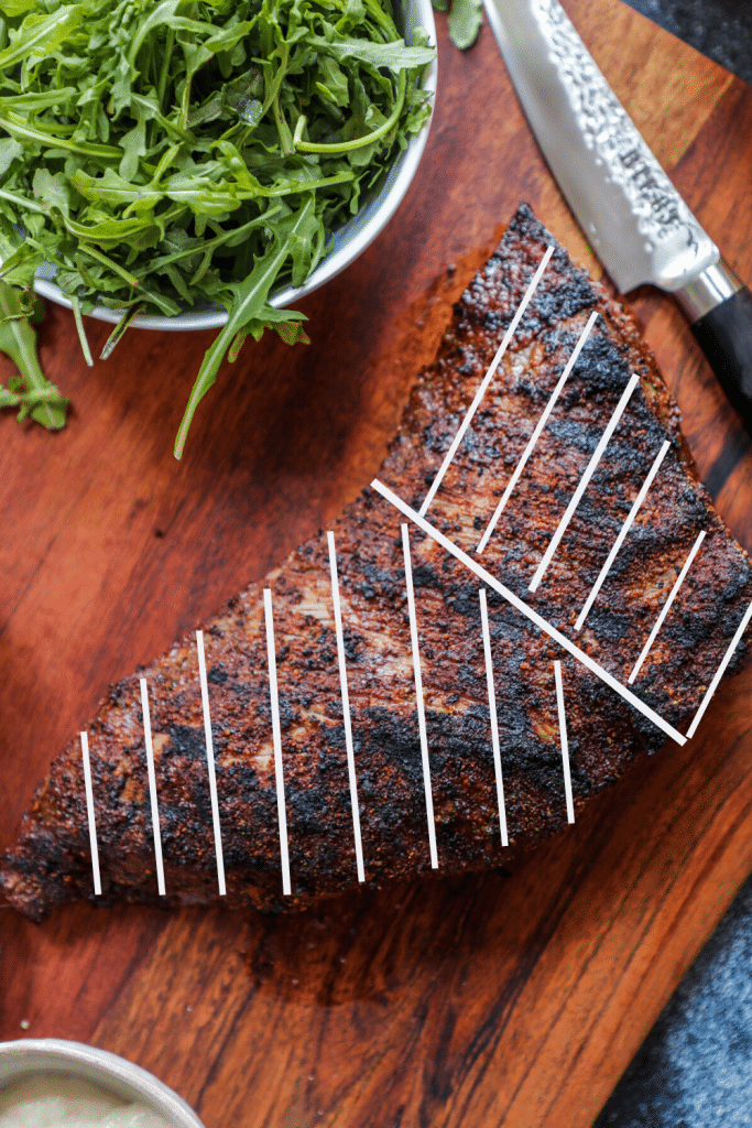 Tri-Tip Cutting Guide