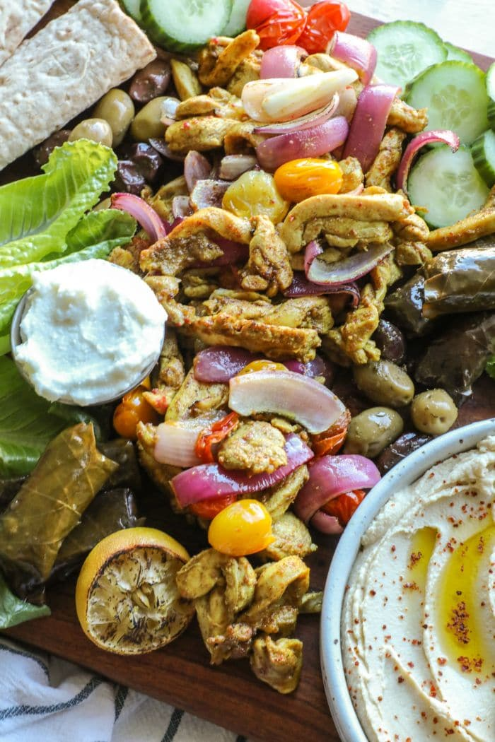 Easy 30 Minute Oven Roasted Chicken Shawarma