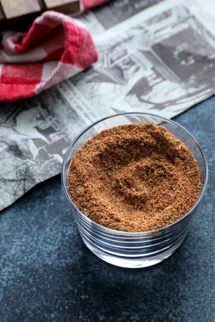 Spicy Cajun BBQ Dry Rub Recipe