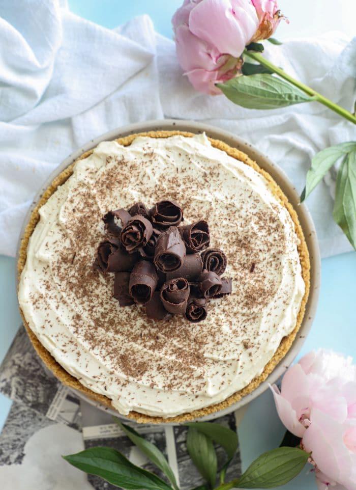 Easy Keto French Silk Pie