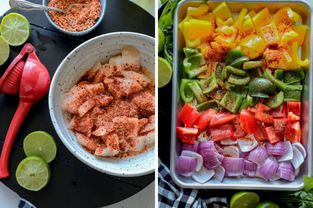 Grilled Chili Lime Chicken ingredients.