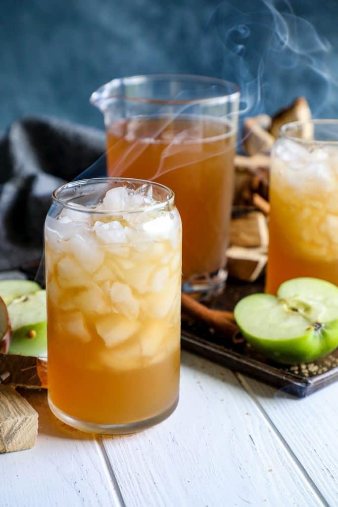 Smoked Apple Cider